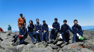 標高2,531m山頂。360度パノラマ。