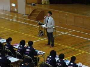 移動教室 松本先生