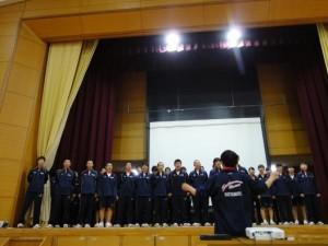 移動教室 合唱