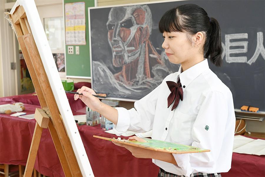 美術部の写真