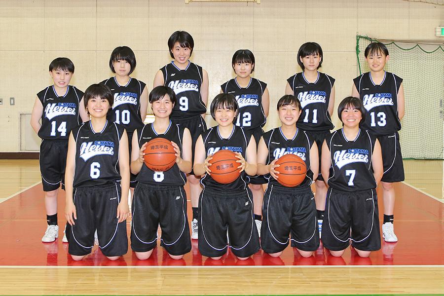 バスケットボール部(女子)の写真