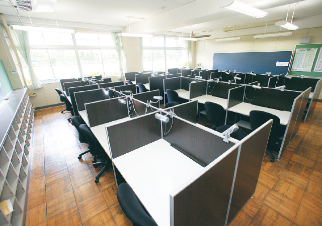 自習室の写真