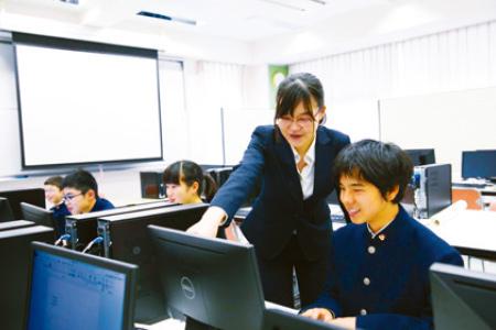 午後授業の写真