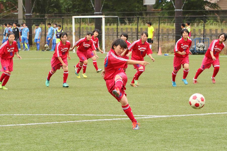 サッカー部女子の写真