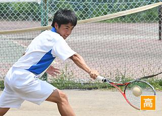 ソフトテニス部(男子)クラブ写真